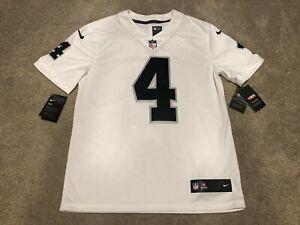 Details about Nike NEW VAPOR Derek Carr Oakland Raiders NFL Jersey NWT Mens M Jersey Limited