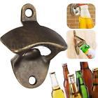 Bronze Wall Mount Open Wine Beer Soda Glass Cap Bottle Opener Kitchen Bars Party