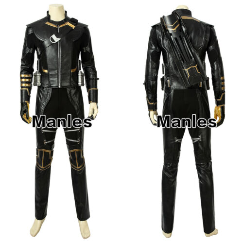 Avengers 4 Endgame Hawkeye Costume Clinton Barton Cosplay Ronin Men Fancy Dress