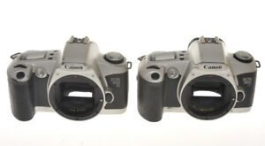 Canon-couple-of-reflex-35mm-EOS-500N-not-in-working-order-for-parts
