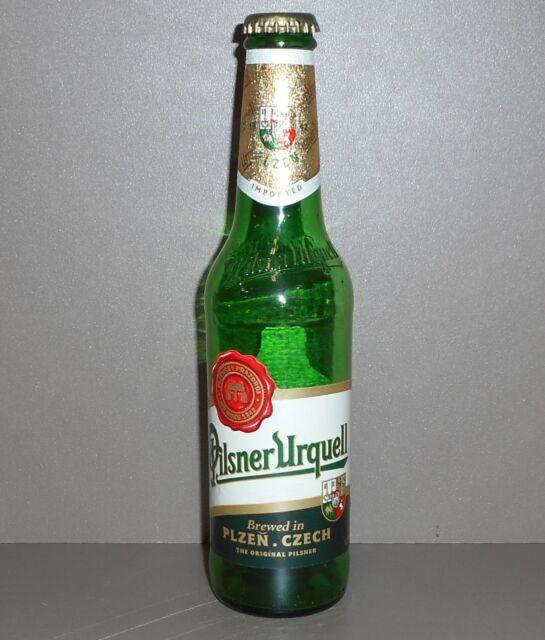 Pilsner Urquell Beer Empty 12oz  Bottle - Design 1