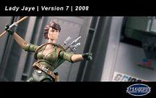 G I Joe GI Joe Lady Jaye V7 2008 Complete w/ File Card 25th Anniversary