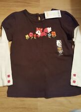 Gymboree girls top 4 years old bnwt