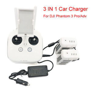 3-IN-1-Car-Charger-Battery-Charging-Adapter-for-DJI-Phantom-3-Pro-Adv-SE-Drones