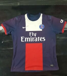 Maillot-jersey-maglia-camiseta-trikot-shirt-psg-neymar-Ronaldinho-ibrahimovic-M
