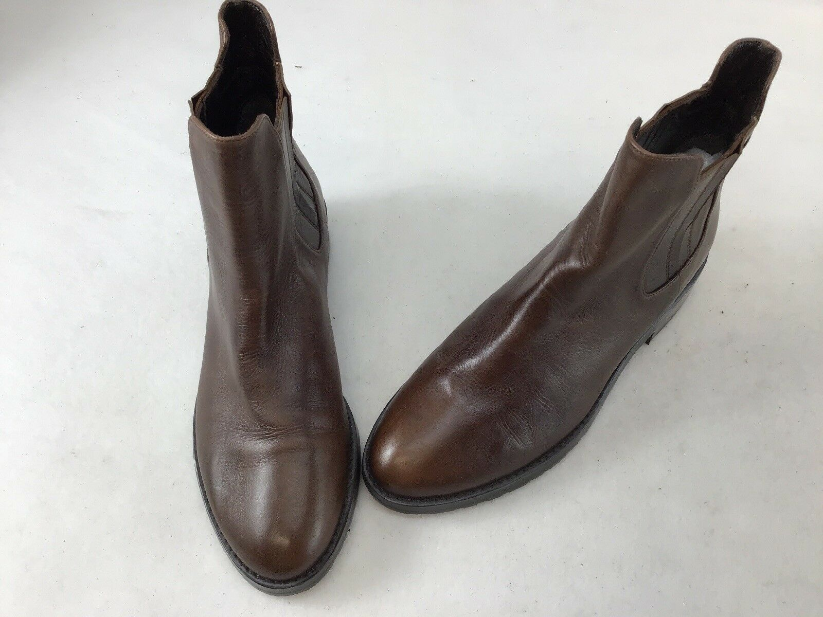 Stuart Weitzman Basilico Timber Old West Brown Booties  H1153