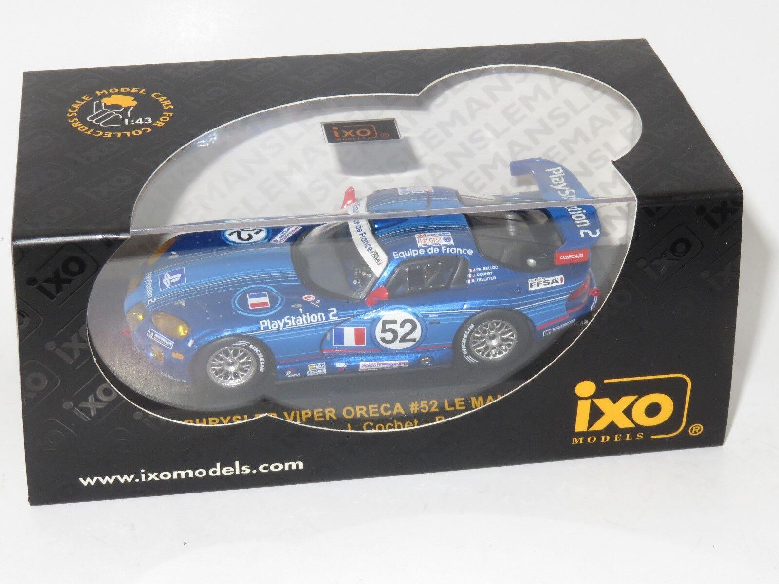 1 43 CHRYSLER VIPER GTS-R Le Mans 24 hrs 2002  52 Oreca Playstation