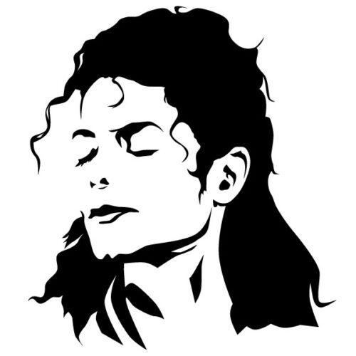 Michael Wandtattoo Jacko Aufkleber King of Pop Wandsticker