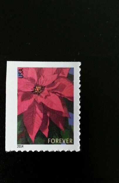 2014 46c Poinsettia, America's Christmas Flower Scott 4