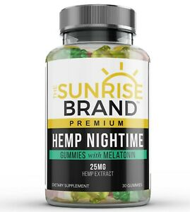 Nightime Gummies for Stress Relief - Great for Pain, Insomnia & Anxiety - 30 ct.