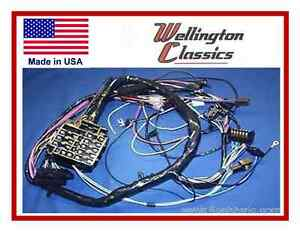 s l300 1964 1965 1966 1967 chevelle & el camino dash wiring harness ebay 1964 el camino wiring harness at creativeand.co