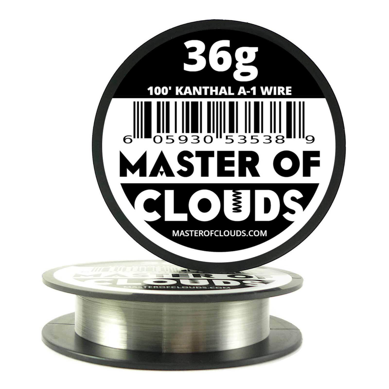 100 ft - 36 Gauge AWG A1 Kanthal Round Wire 0.127 mm Resistance A-1 ...