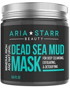 Aria-Starr-Dead-Sea-Mud-Mask-For-Face-Acne-Oily-Skin-amp-Blackheads-Best-Facial