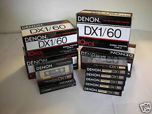 50-Denon-Audio-Cassette-Tape-Lot-New-Made-in-Japan