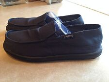 NEW MEN SKECHERS TANTRIC CADWELL 63311 NAVY BLUE SLIP ON CASUAL LOAFER SHOE