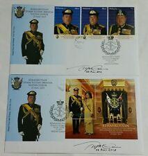 Signed Coronation Sultan Johor Medan Tuanku Jalan Tunku Ibrahim FDC 2015