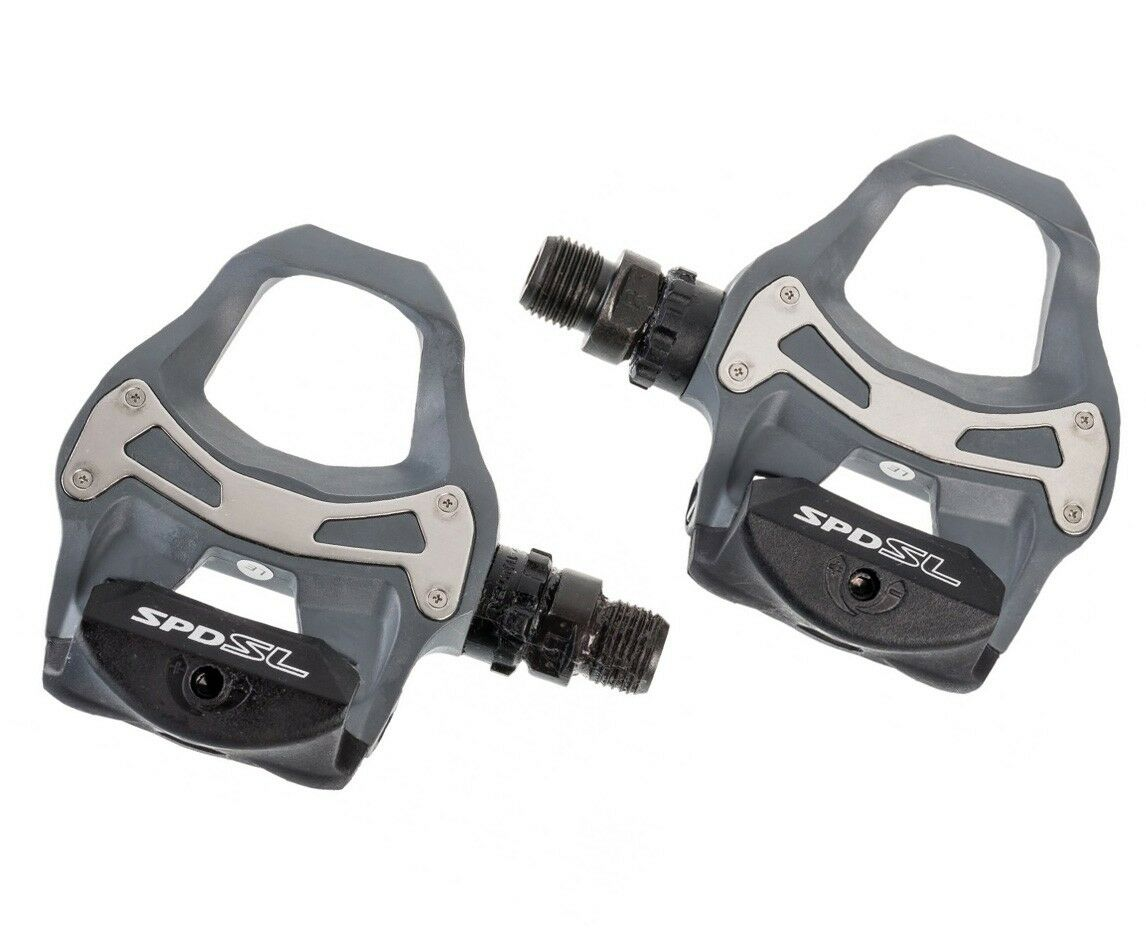 Shimano PD-R550 G SPD-SL Road Bike Cycling Bicycle Pedals - Grey