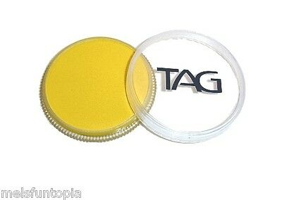 TAG Body Art 32g Pot Regular Yellow Professional Face and Body Paint - Make up