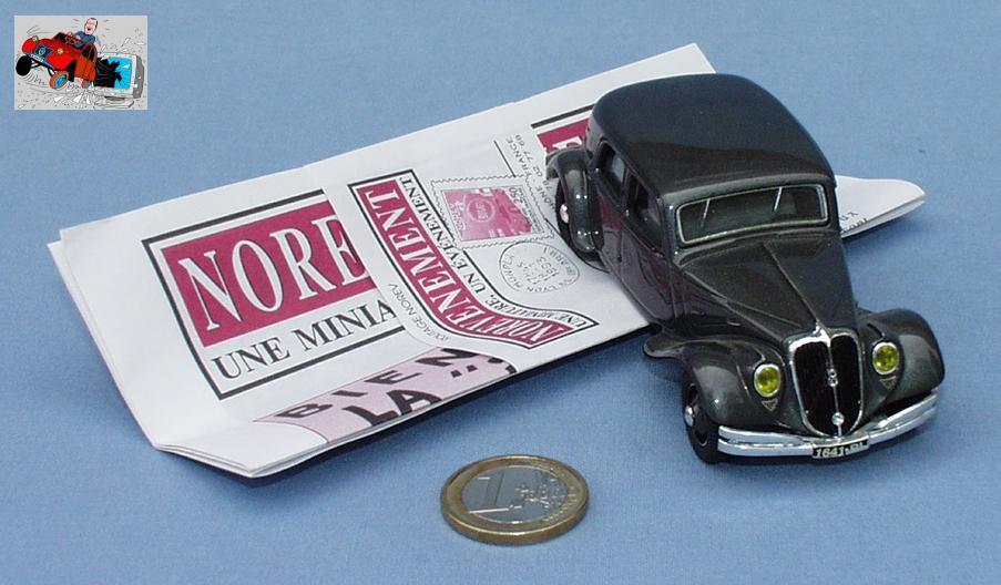 Norev ligne schwarze 1   43  citroen 22cv traction avant limousine (- en bo î te)