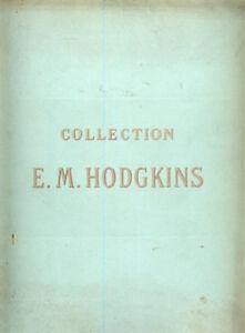 Catalogue-Vente-COLLECTION-E-M-HODGKINS-1914