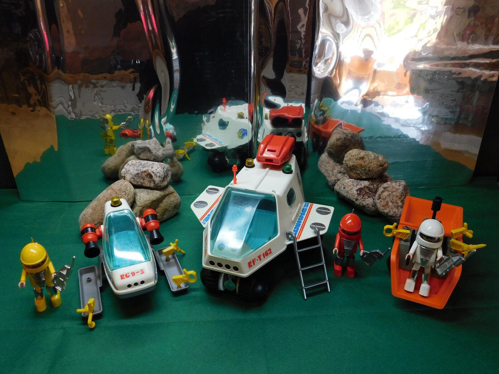Playmobil Space-Set: Raumfähre 3509, 3534, Raumgleiter 3509, Raumfähre Space-Transporter 3558 f5207f