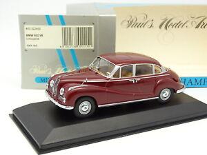 Minichamps-1-43-BMW-502-V8-Limousine-Rouge