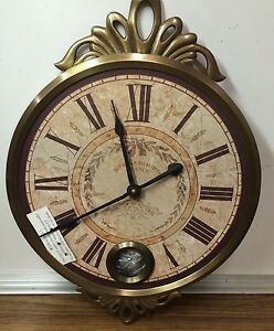 New Vintage Style Oval Wall Clock Artistic Timepieces
