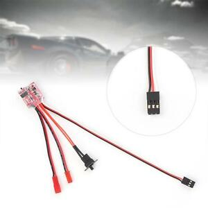 10A-Bustophedon-ESC-Brushed-Speed-Controller-BEC-5V-1A-For-RC-Car-Truck-Boat-FA