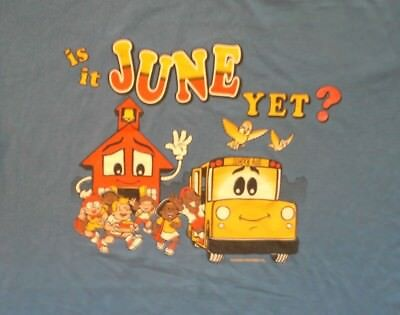 Vintage School Out June Yet Fun Party T Shirt Xl College Spring Break Ebay