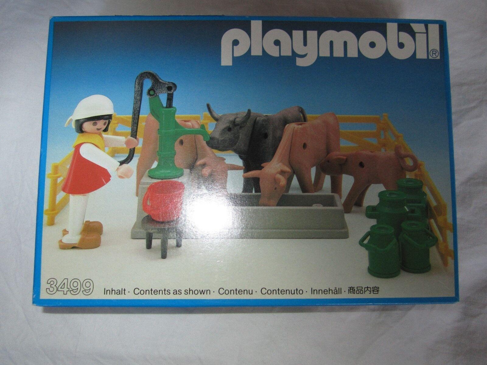 Playmobil huis boerderij house boerin met koeien 3499 3556  3500 3612 3963 nuovo  Miglior prezzo