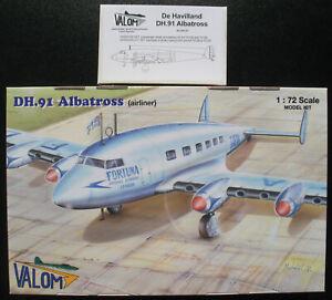 VALOM-72128-De-Havilland-DH-91-Albatross-Airliner-Resin-Interior-Set-1-72