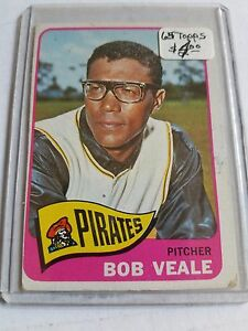 1965-Topps-195-Bob-Veale-Pittsburgh-Pirates