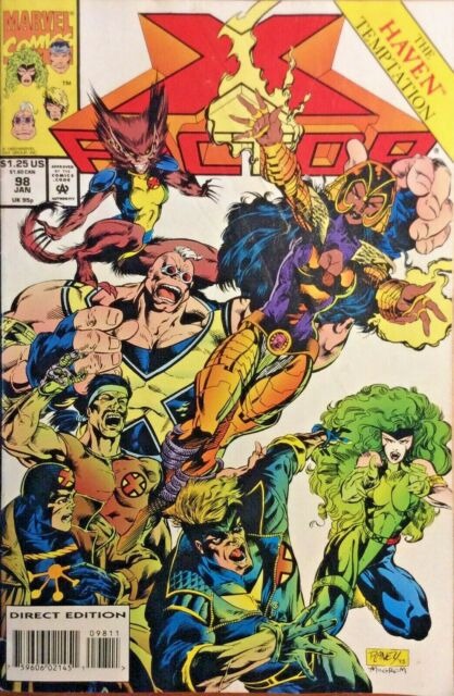 X Factor 1 Feb 1986 Marvel For Sale Online Ebay