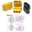 10 Paar MR60 3Pin Multirotor Stecker Buchse Goldstecker Brushless Motor Regler