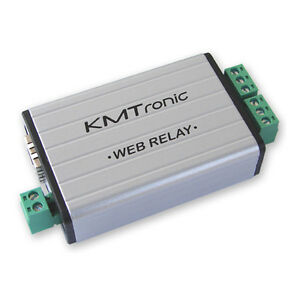 WEB Server Android APP KMTronic LAN TCP//IP Ethernet 2 Channel Relay board