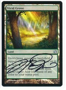 1 FOIL Vivid Grove Land Modern Masters 2013 Mtg Magic Uncommon 1x x1