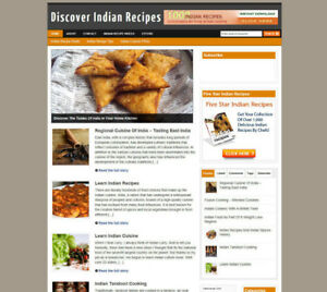 INDIAN-COOKING-WEBSITE-FOR-SALE-UK-AFFILIATES-FREE-DOMAIN