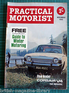 Details about Practical Motorist 1965 Motor Show Preview - Corsair V4 Road  Impressions