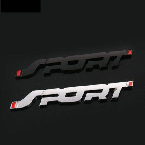 SPORT Emblem Trunk Fender Badge Sticker Car Metal 3D Logo Stickers Useful 2019