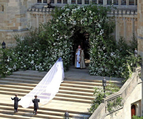 NEW IMAGE!!! Duchess of Sussex UNSIGNED wedding photograph M5205 Meghan