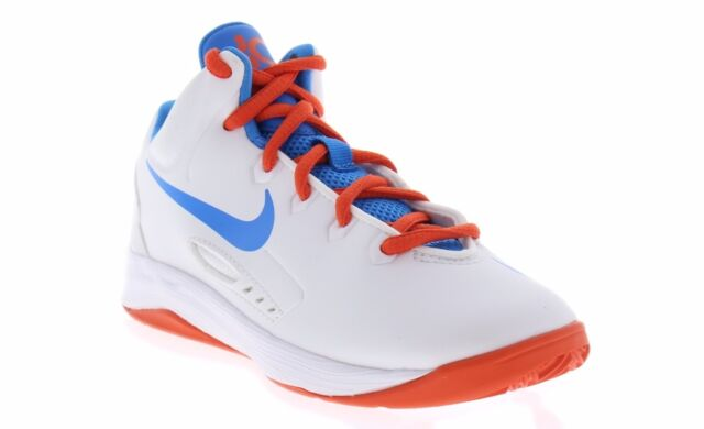 Arena Brillante Cementerio  Nike Youth KD V White Orange Blue Kevin Durant Basketball Shoes 555642 101  for sale online