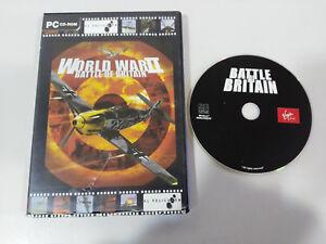 WORLD-WAR-II-BATTLE-OF-BRITAIN-JUEGO-PC-CD-ROM-ESPANOL-VIRGIN