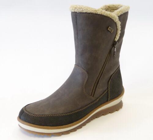 R4374 Tex Lammwolle Grau Asche Wasserdicht Remonte Leder 45 Stiefel W1THwn0R