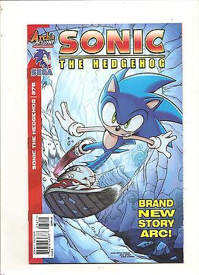 Archie Comics  Sonic The Hedgehog #276 Regular Direct Cover Variant