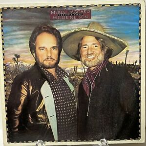 Merle Haggard, Willie Nelson, Poncho And Lefty, 1982 RARE PROMO FE-37958 - EX!!