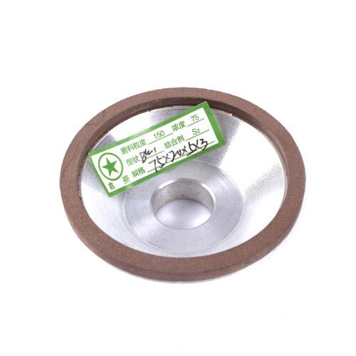3/'/'//75mm Resin Diamond Cup Grinding Wheel for Carbide Blade Metal Tools 150~600#