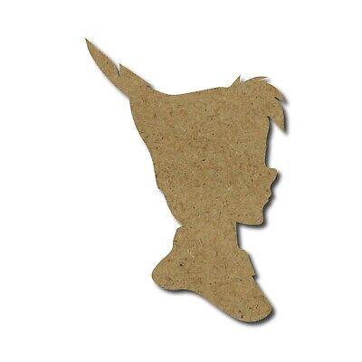 Wendy Peter Pan Hada cabeza silueta 3mm Mdf recorte Creative Crafts Plantilla