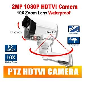 2MP-CMOS-HD-TVI-MINI-PTZ-BULLET-CAMERA-10X-OPTICAL-ZOOM-1080P-5-1-51mm-LENS-IP66
