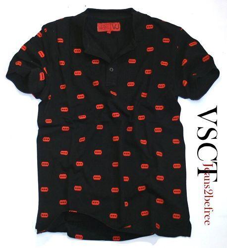 VSCT Polo Shirt Razor Blade Tee man T-Shirt schwarz Neu