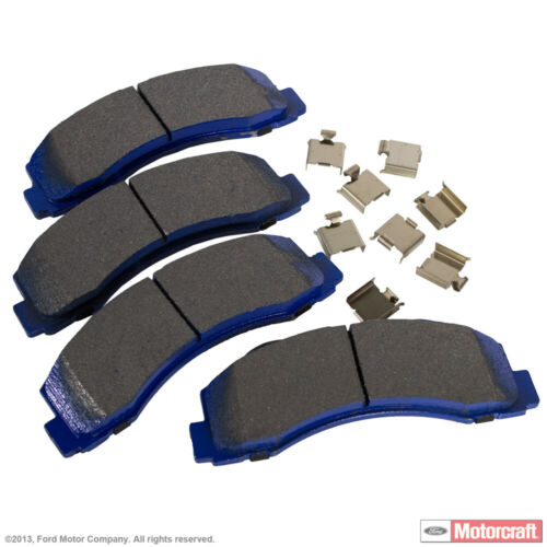 Integrally Molded Front MOTORCRAFT Disc Brake Pad Set-Pads Superduty